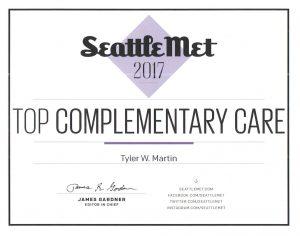 Seattle Met - Top Acupuncturist Award 2017