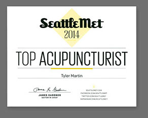 Seattle Met - 2014 Top Acupuncturist Award