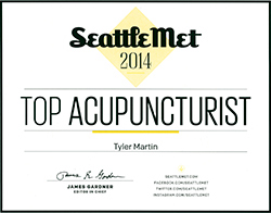 Seattle Met Top Acupuncturist 2014